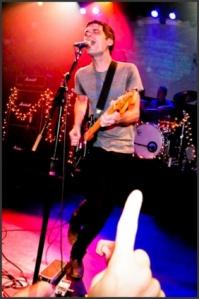 Photo Courtesy of elawgrrl.comAbove: Lead singer Garret Klahn at the Revelation Record 25th anniversary show on October 11, 2012