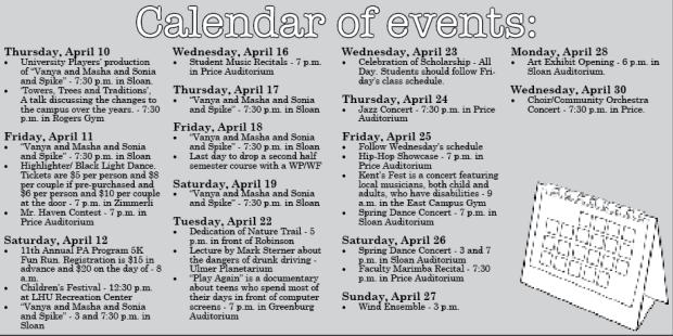 calendar 4-10
