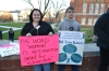 Students gather in solidarity against sexualassault