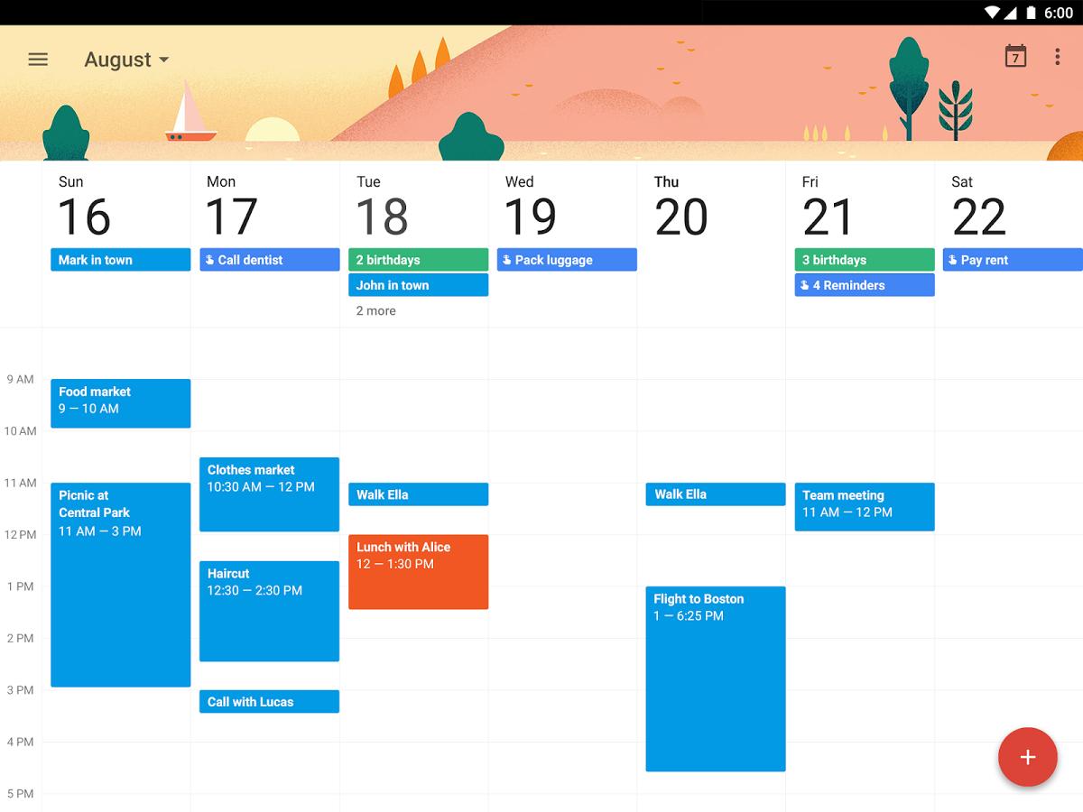 Organize Your Life Using Google Calendar The Eagle Eye